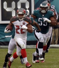 Don't expect RB Doug Martin to carry the load next year for another team.