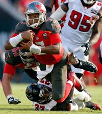 Jameis is in right-now mode. (Photo courtesy of Buccaneers.com.)