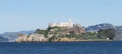 Alcatraz from Pier 39.
