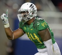Could Oregon DL DeForest Bucker be the No. 1 pick of the Bucs in April?