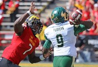 Would the Bucs take a flier on Maryland DE Yannick Ngakoue in the third round if there is a run on edge rushers?