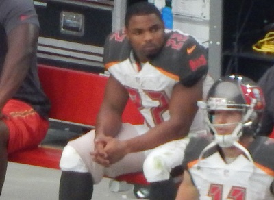 Martin was last seen in a Bucs uniform with his right hamstring wrapped in Arizona. (