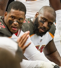 Crowded house on defensive line in 2017?