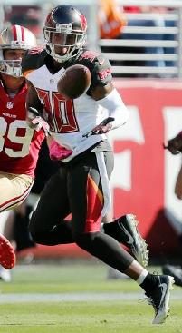 Bucs S Bradley McDougald picks off a Sideshow Bob pass. (Photo courtesy of Buccaneers.com)
