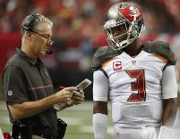 Dirk Koetter was talking Jameis before today's game