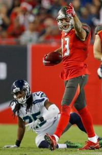 High praise for Bucs receiver. (Photo courtesy of Buccaneers.com)