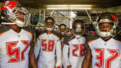 Contender or pretender? (Photo courtesy of Buccaneers.com)