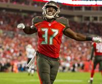 Finisher. (Photo courtesy of Buccaneers.com)