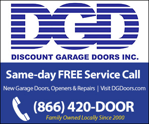 Free Diagnosis Service Call With Discount Garage Doors